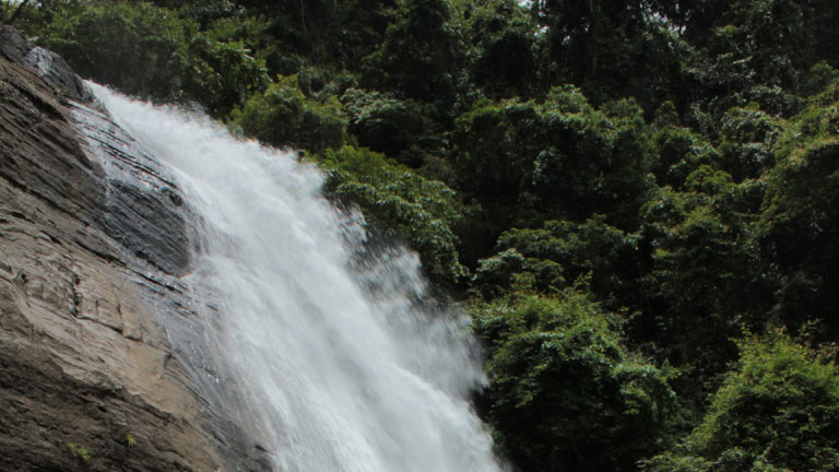 Vazhavanthol Waterfalls